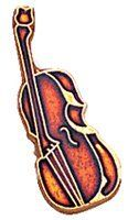 "Cello Instrument Pin TMP22C by Terra Sancta Guild. $2.95. 3/4"" Cello Instrument Pin. Rich color enamel accents in an attractive acrylic gift box. Please call for quantity pricing."