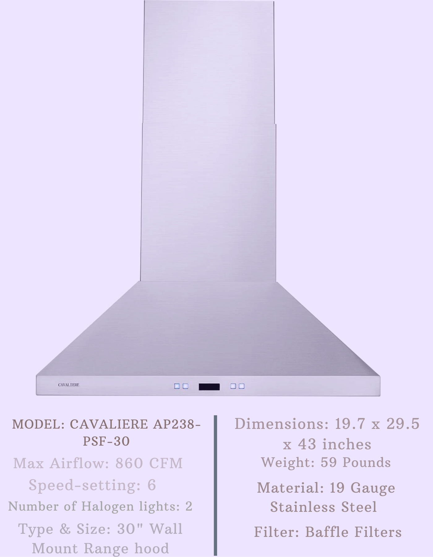 Top 10 Cavaliere Range Hood Reviews For