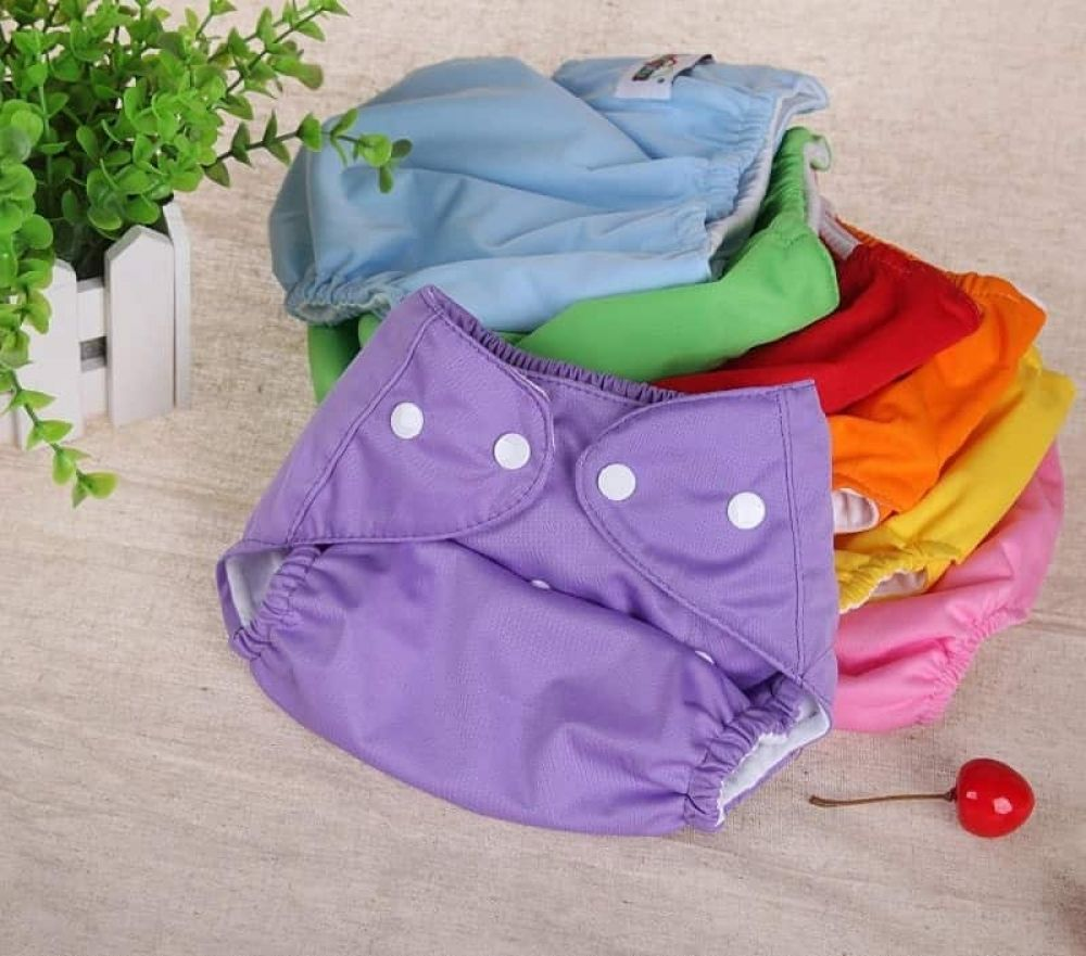 Adjustable Colorful Reusable Baby Diaper Washable Cloth Summer Version Nappies