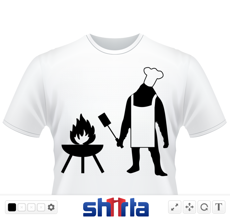 Cooking like a sasquatch? Then this is the design for you or that sasquatch in your life.