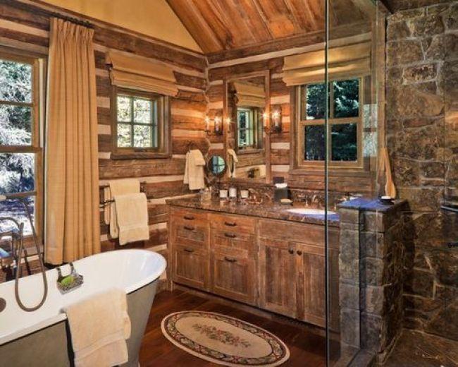 Trendy And Chic Industrial Rustic Bathroom Vanity Ideas