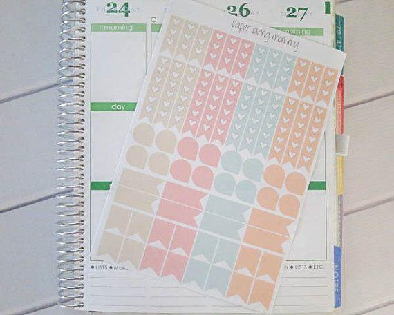Confetti Series | Planner Stickers | Erin Condren Stickers | Plum Paper Planner Stickers | Erin Condren Life Planner | Filofax