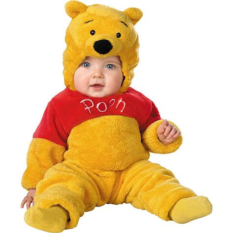 baby winnie the pooh costume winne pooh disney costume. Black Bedroom Furniture Sets. Home Design Ideas