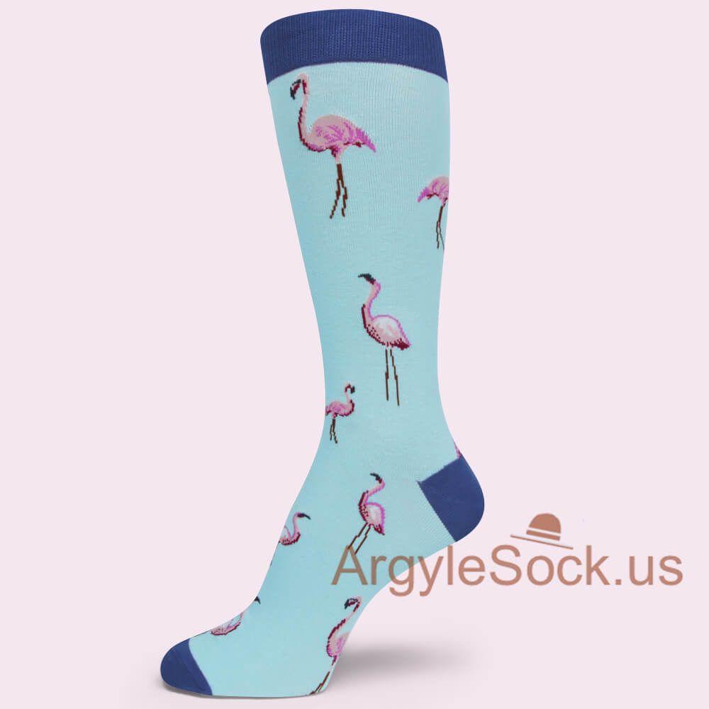 Black Flamingo Socks Dress Casual Socks Groomsmen Socks Gift Argyle Socks For Men And More Groomsmen Socks Groomsmen Socks Gift Argyle Socks [ 1000 x 1000 Pixel ]