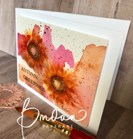 Autumn in pink stampin up painted harvest pinterest autumn well sure you can have pink greetings in the fall season and maybe nobody will think youre crazy i just love the way this little water color card came m4hsunfo Image collections