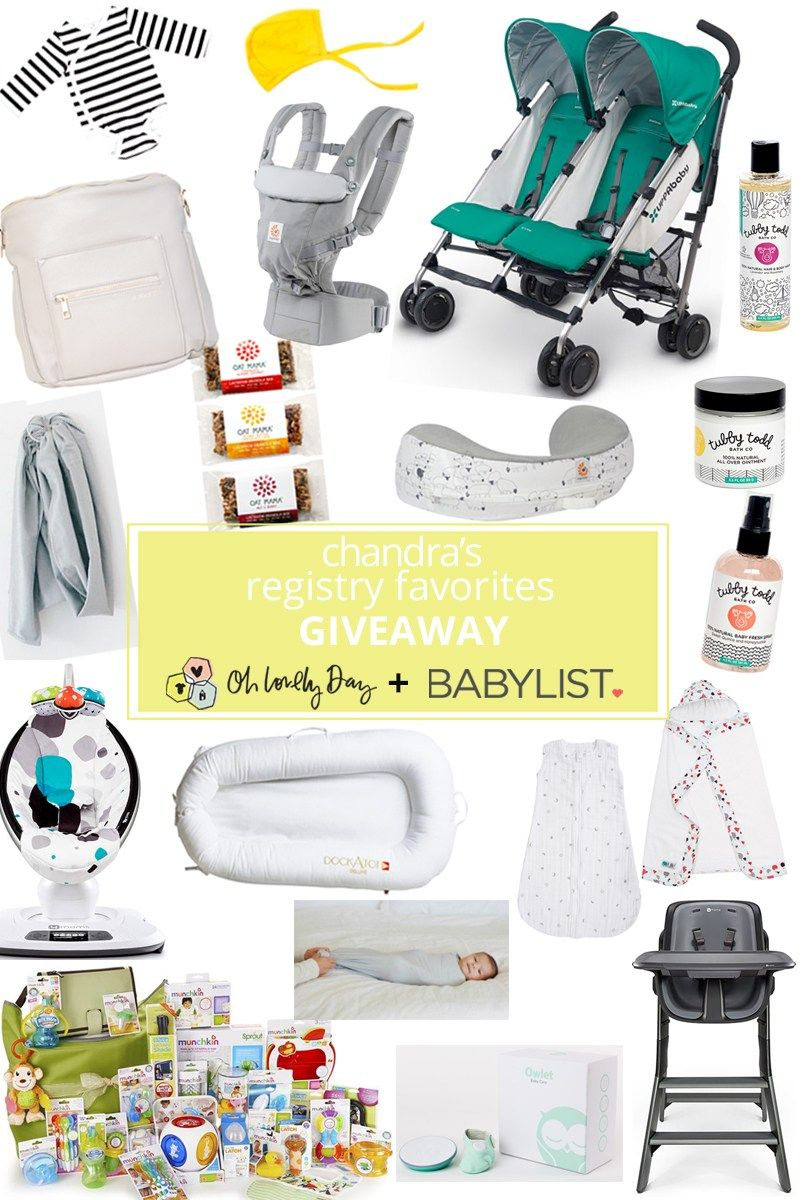 A mom of three shares her top picks to have on any baby registry like BabyLIst, why you'll love them, plus a giveaway of her favorites valued at over $2500!