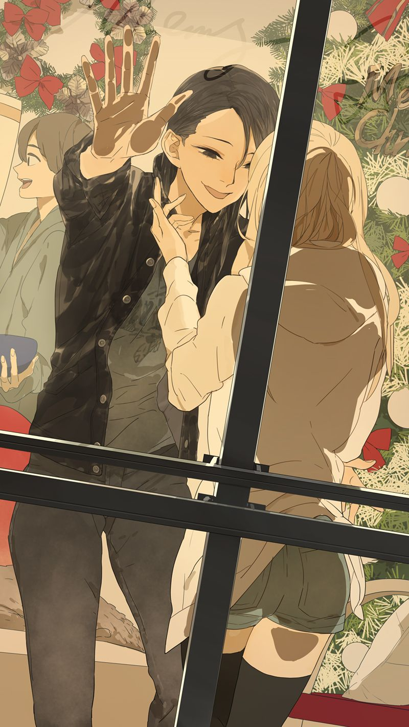 "sanctuary-for-strange-people: "" New Official Art by TanJiu - Author of Their Story (Tamen de gushi) """