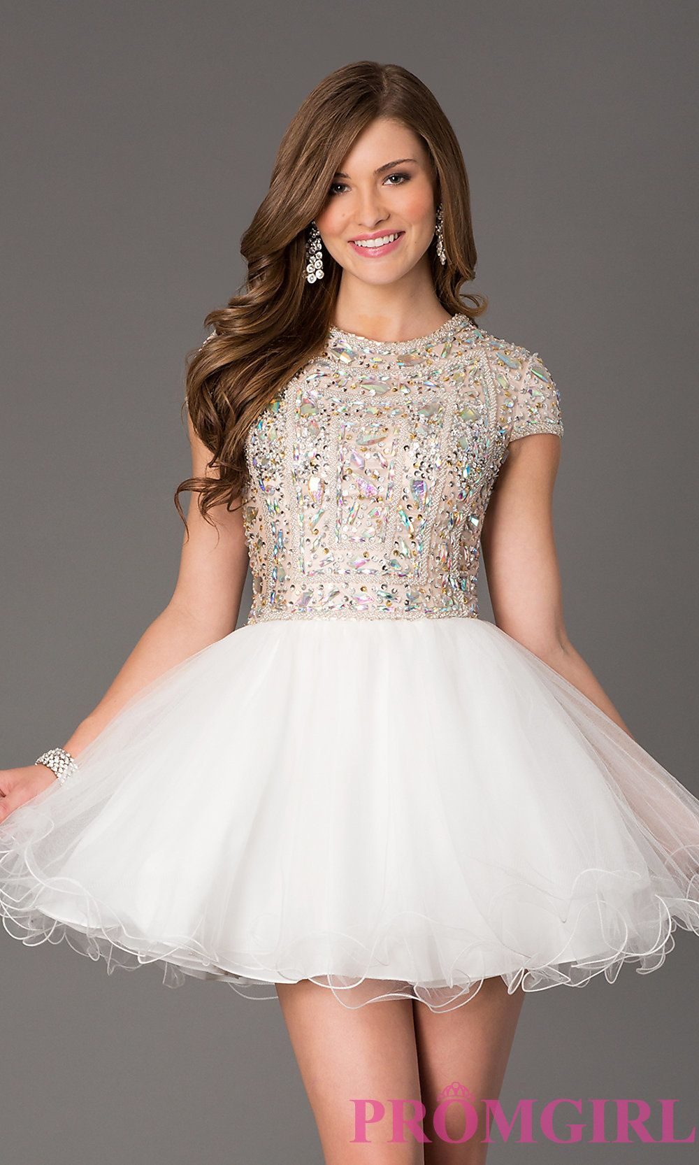 Teens Silver Formal Dresses