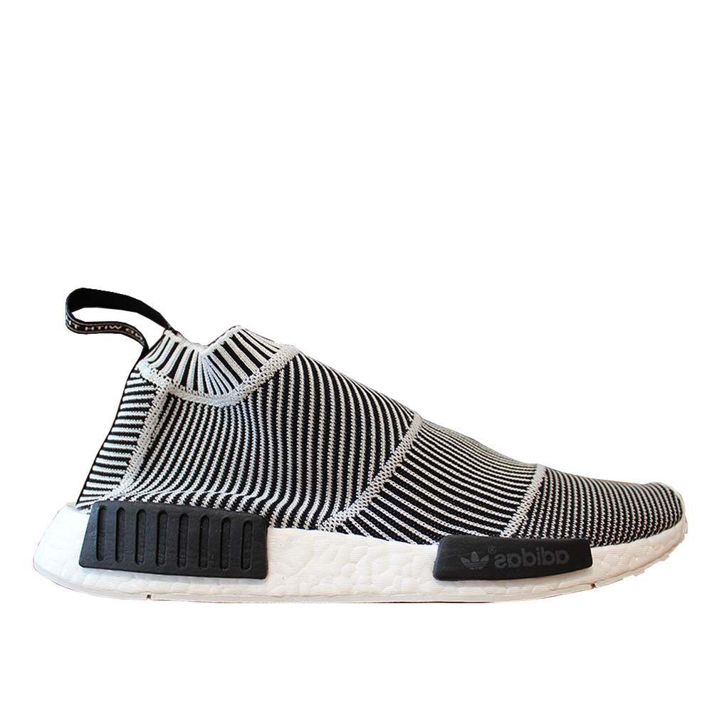 Adidas originali nmd cs1 città sock impulso primeknit riflettente (nero