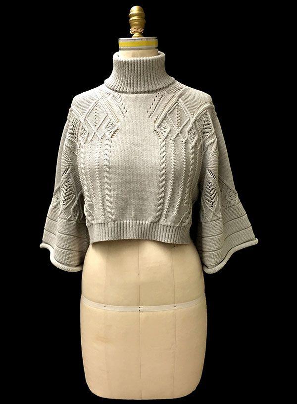 Designer: Joy Kim knitGrandeur®: FIT & Baruffa 2/30s Cashwool Collaboration: Term Garment Project, Part II