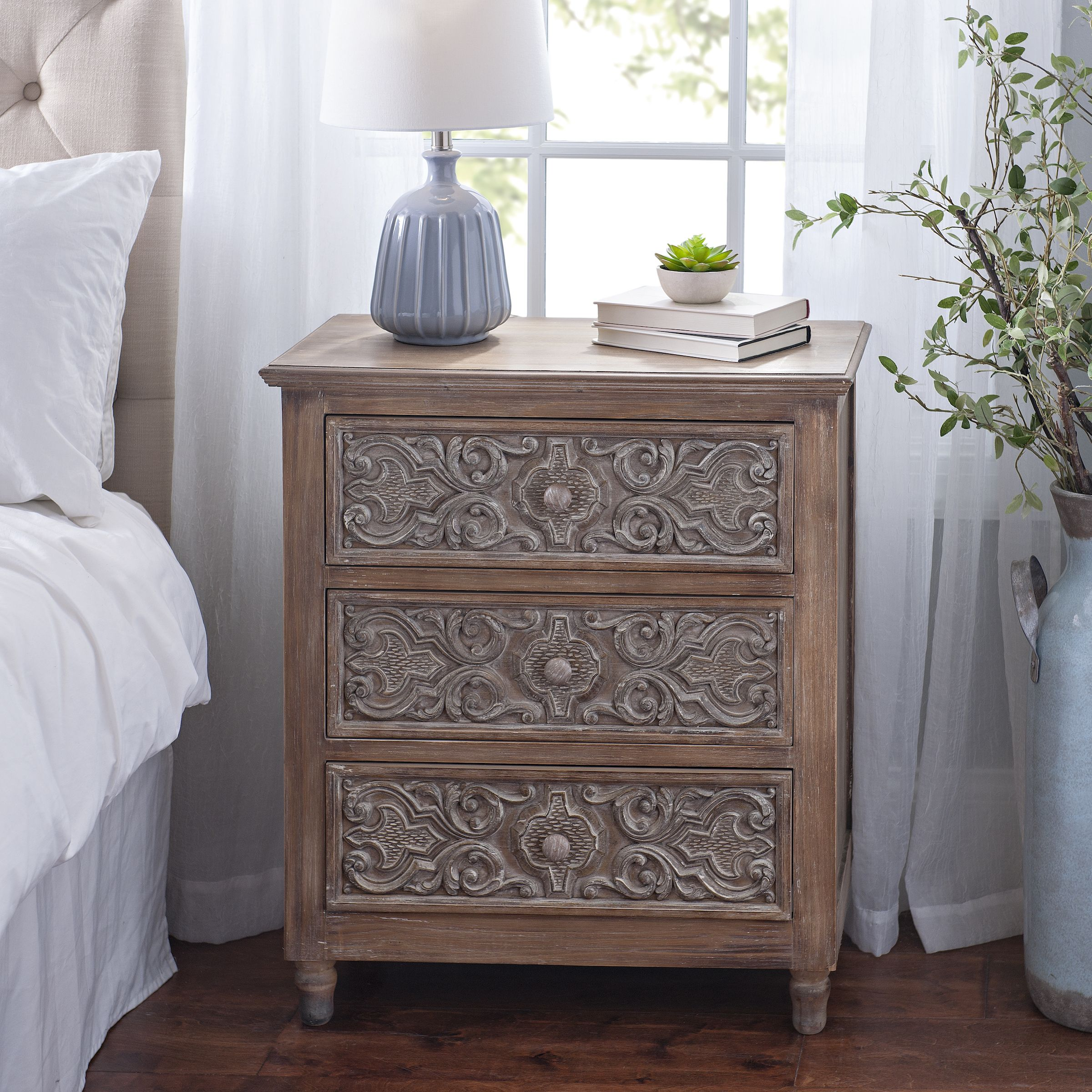 Get Antique Style With Enticing Embossing Affordable Furniture Bedroom Furnishings Furniture