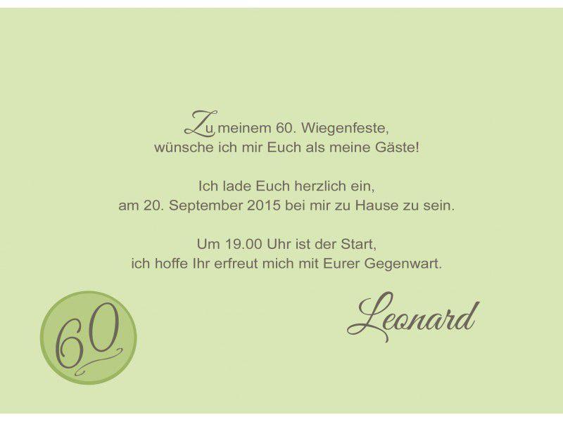 Einladung Zum 60 Geburtstag Vorlagen Kostenlos Geburtstag