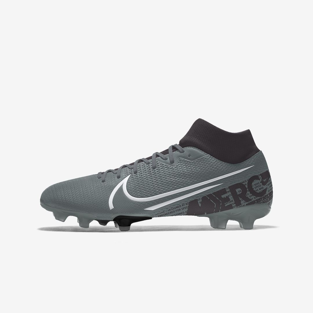 Nike Mercurial Superfly 7 Academy Fg Mg By You Custom Multi Ground Soccer Cleat Multi Color In 2020 Womens Soccer Cleats Girls Soccer Cleats Soccer Cleats Nike