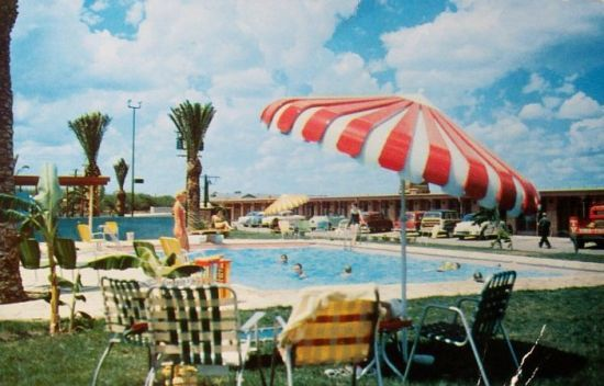 Rooms: Vintage Motel Postcards