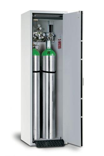 Trg 205 60 R Druckgasflaschenschrank Ral7035 H 2050 B 600 T 615mm Din Rechts Storage Cabinets Storage Cabinet