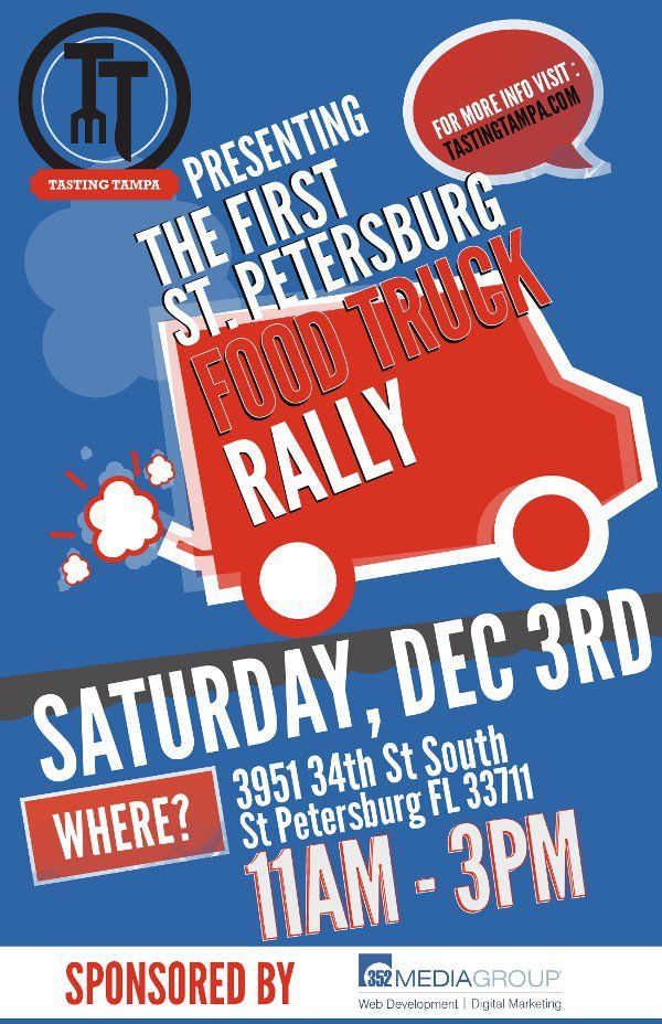 Food Trucks posters and next week the first ever rally