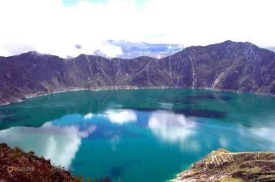 Кратерное озеро Килотоа – #Эквадор #Котопахи (#EC_X) Килотоа - изумрудное озеро, рожденное из огня и пепла вулкана! http://ru.esosedi.org/EC/X/1000072001/kraternoe_ozero_kilotoa/