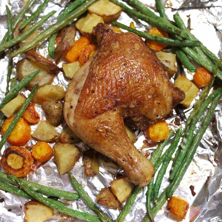 Bone In, Chicken Thighs With Skin