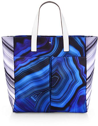 a0c673bd6f5 Anya Hindmarch Printed Canvas Tote on shopstyle.com | Summer Beach ...