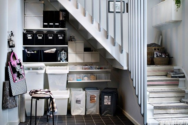 Under Stair Storage & Under Stair Storage | Hallway designs Stair storage and Storage