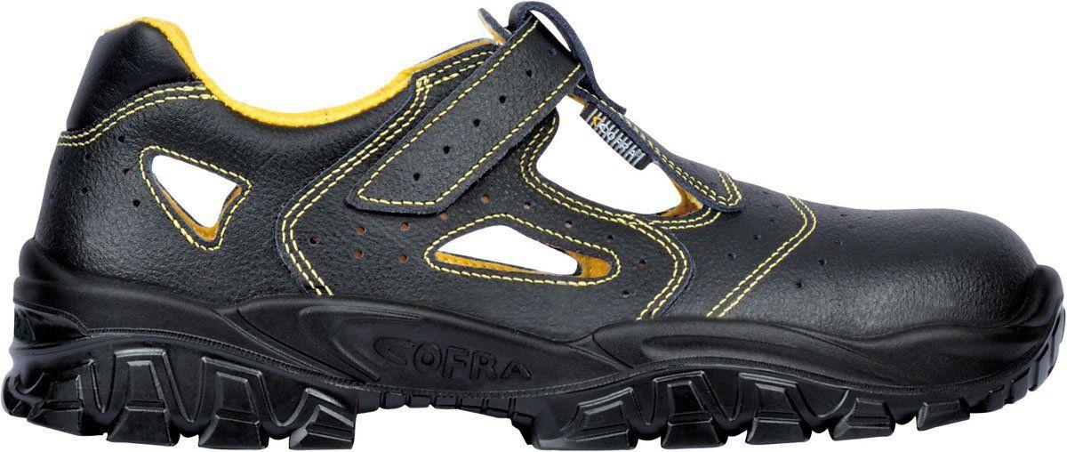 Cofra NEW RED EYE BLACK S3, Chaussures de sécurité mixte adulte, Noir (Schwarz), 46