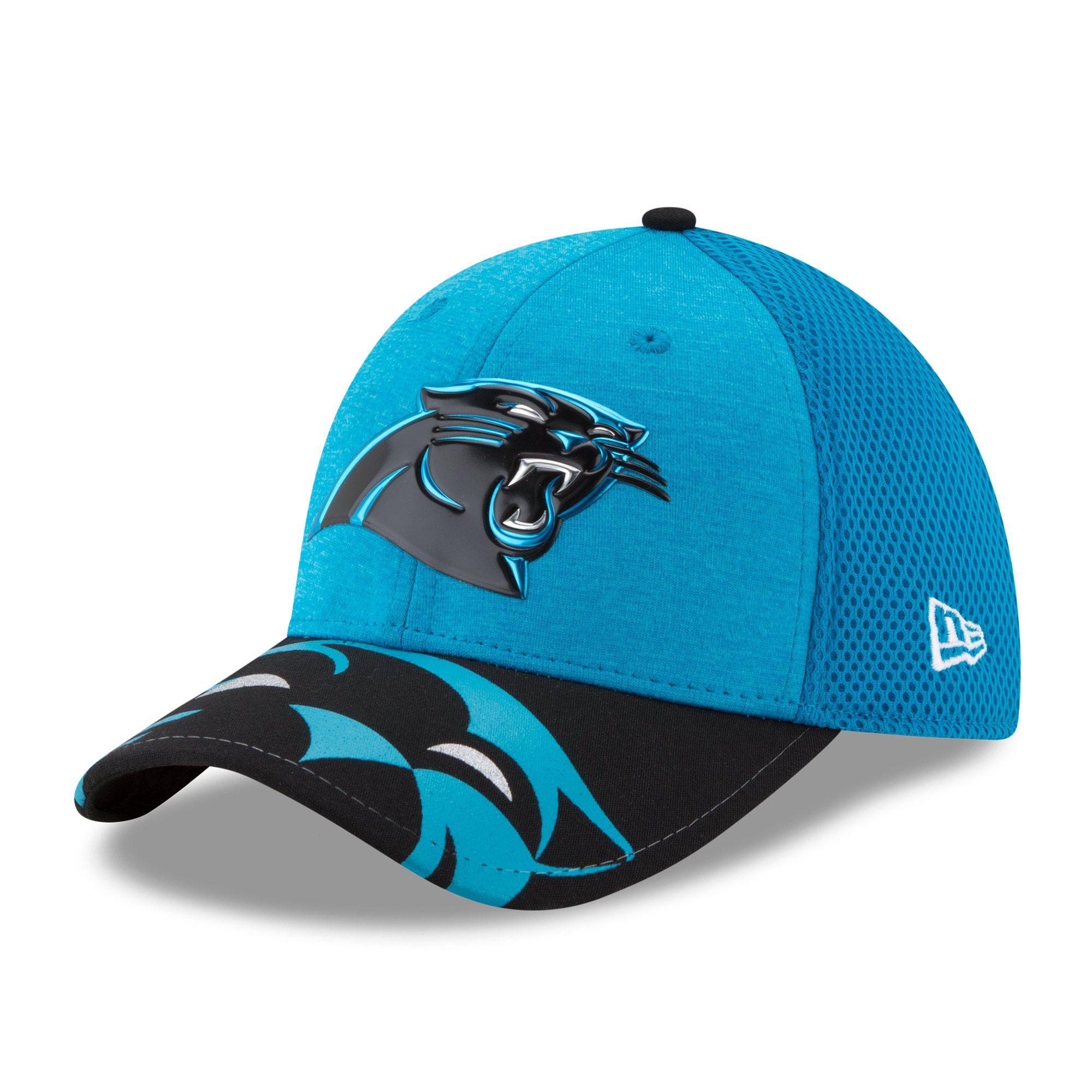 super popular 9e674 5b629 Carolina Panthers New Era 2017 NFL Draft On Stage 39THIRTY Flex Hat - Blue
