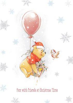 Let Winnie the Pooh help celebrate Christmas