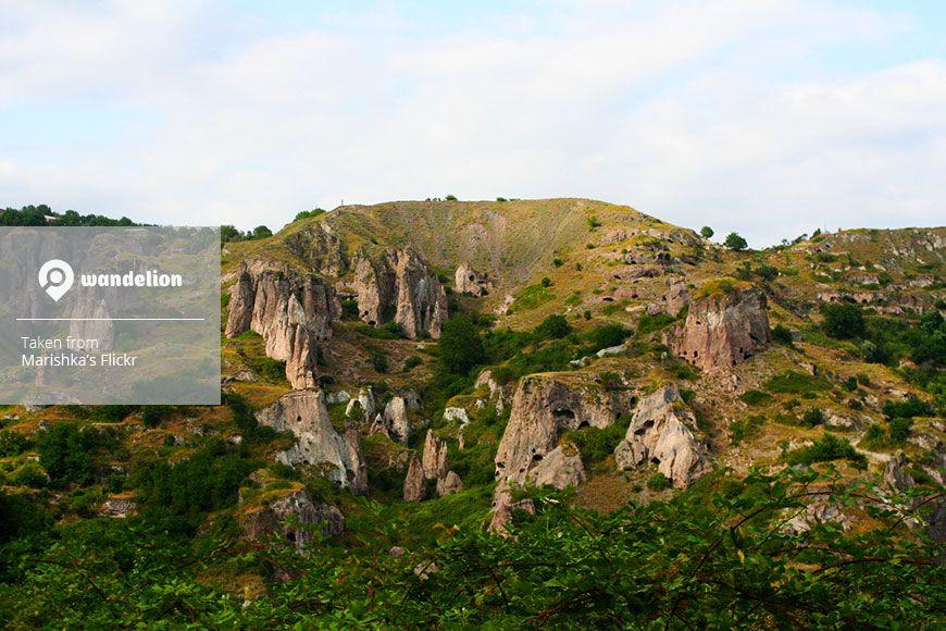 Khndzoresk cave city, #Armenia. #NaturePhotography #Cave