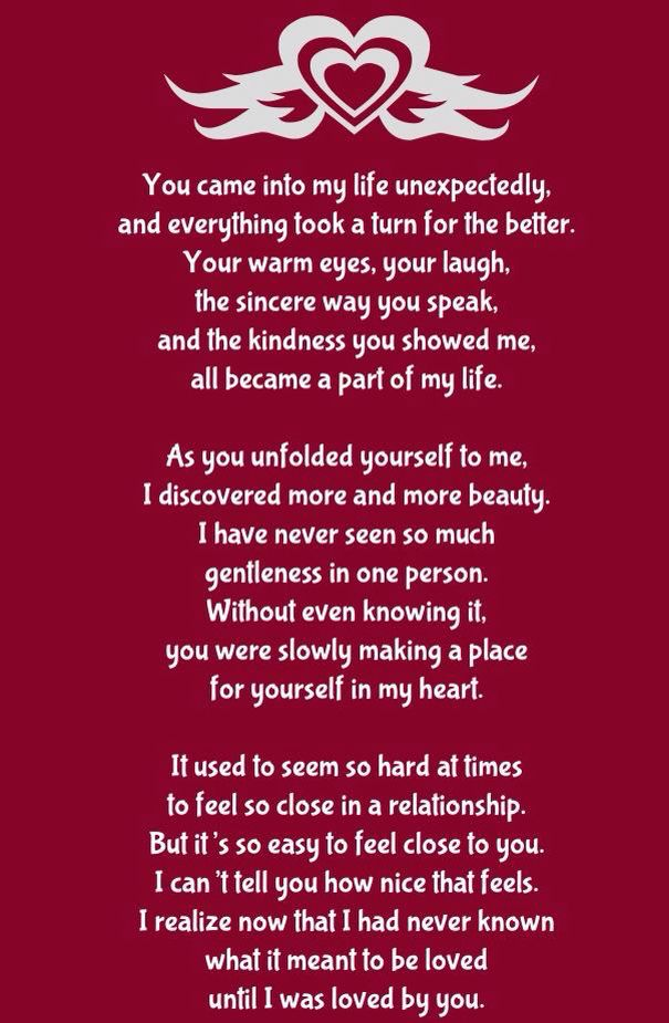 Pin by Debbie C on Love poems | Love poems for him, Love yourself quotes, Poems for him