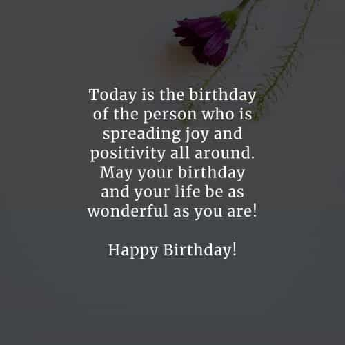 65 Happy birthday messages and Happy birthday wishes