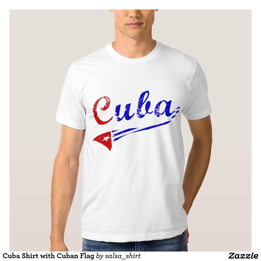 07e82f0599263 Camisa de Cuba con la bandera cubana