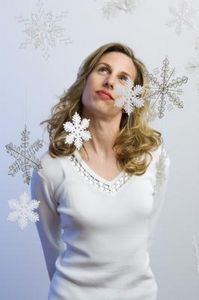 How to Do Embroidery Snowflakes