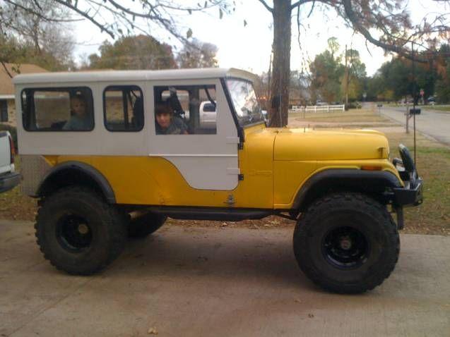 Jeep Cj6 Vintage Jeep Badness My Xo Had A Sweet Frame Off