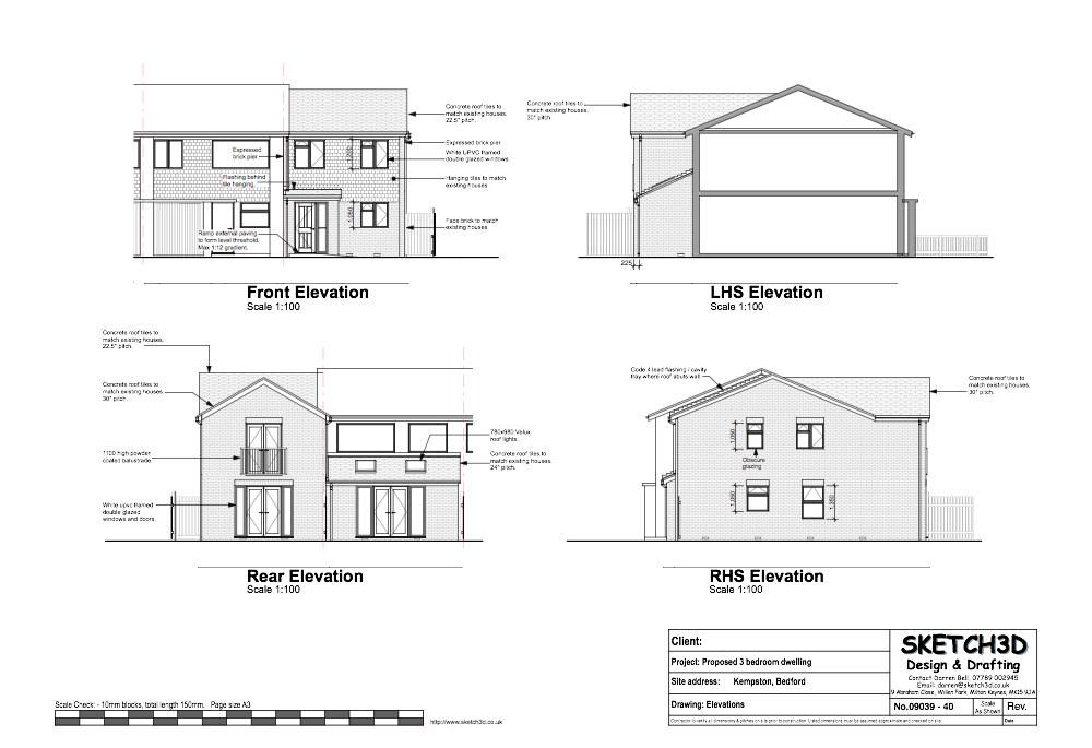 Example House Plans 3 Bedroom End Of Terrace Built To House Plans House Floor Plans New House Plans