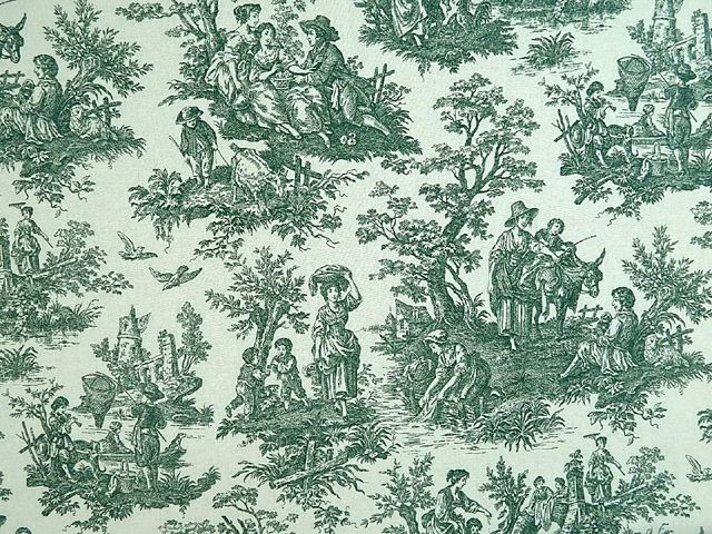 Waverly Country Life Toile Green Discontinued Waverly Fabrics Country Life Toile Waverly French Toile Classic Frenc French Country Bathroom Toile Fabric Toile