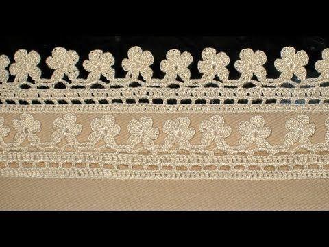 5 Towel Lace Crochet Edge Patterns Models Designs New Trends