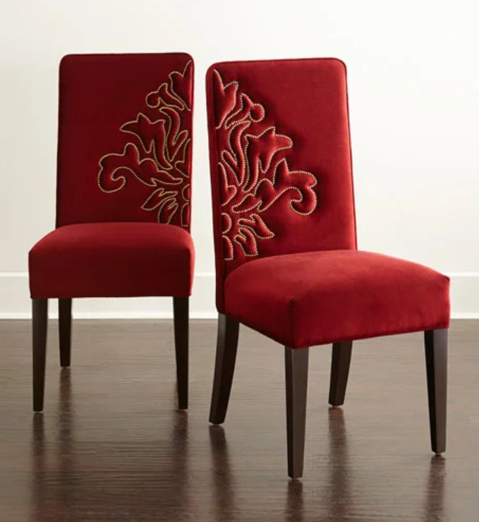 Get The Look For Less Five High End Dining Chair Styles You Could Create Yourself Dining Chairs Velvet Dining Chairs Wingback Dining Chair