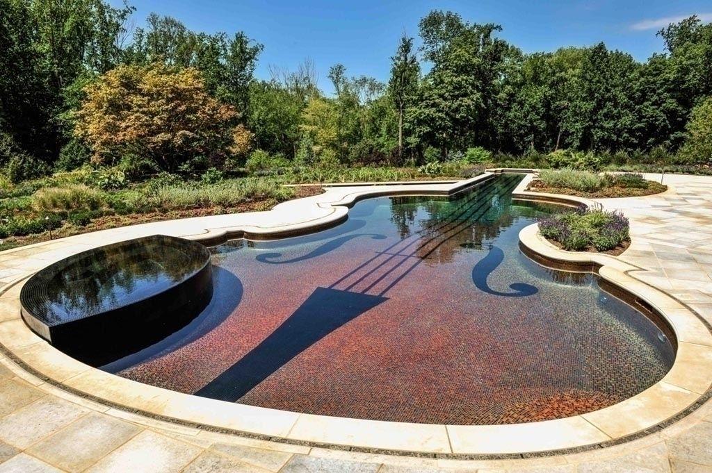 Inground Pool Designs Für Kleine Hinterhöfe #Badezimmer #Büromöbel  #Couchtisch #Deko Ideen #