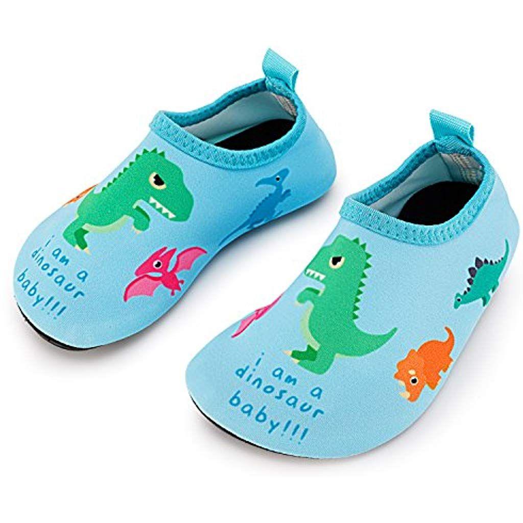 ebf4937900 Toddler Kids Swim Water Shoes Quick Dry Non-Slip Water Skin Barefoot ...