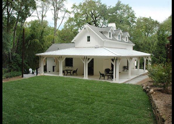 Small Farmhouse With Wrap Around Porch