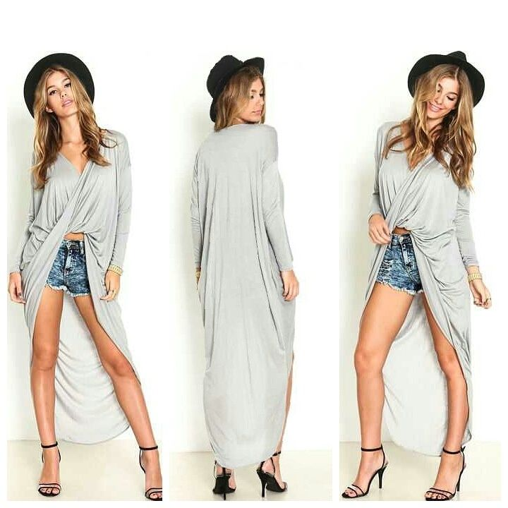 Twisted High-Lo Top
