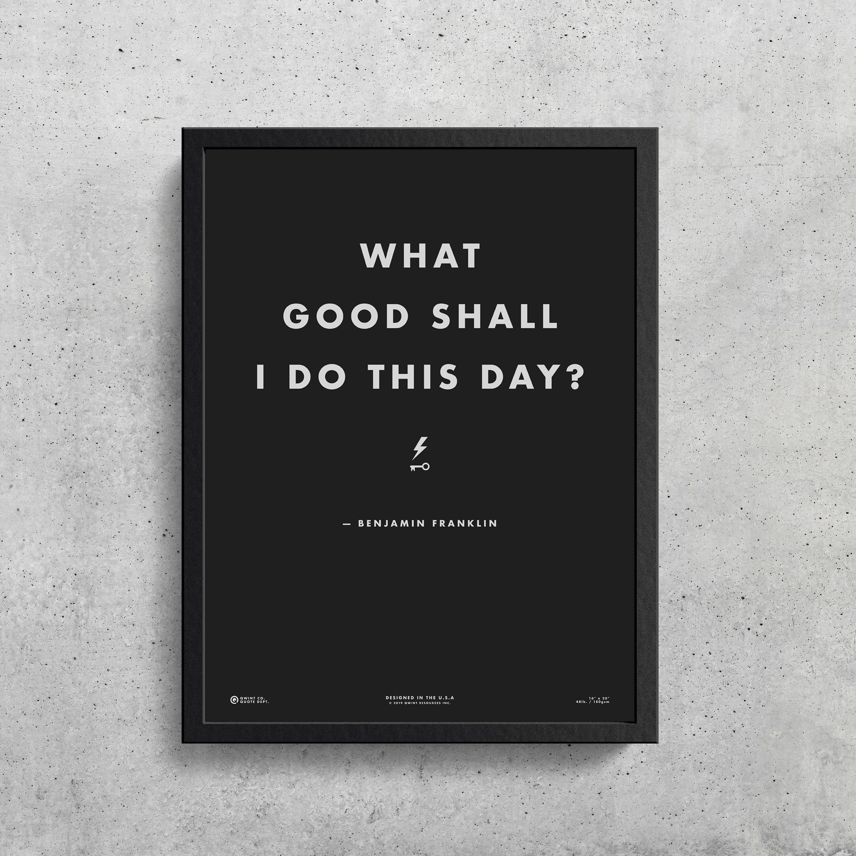 Benjamin Franklin Quote Printable