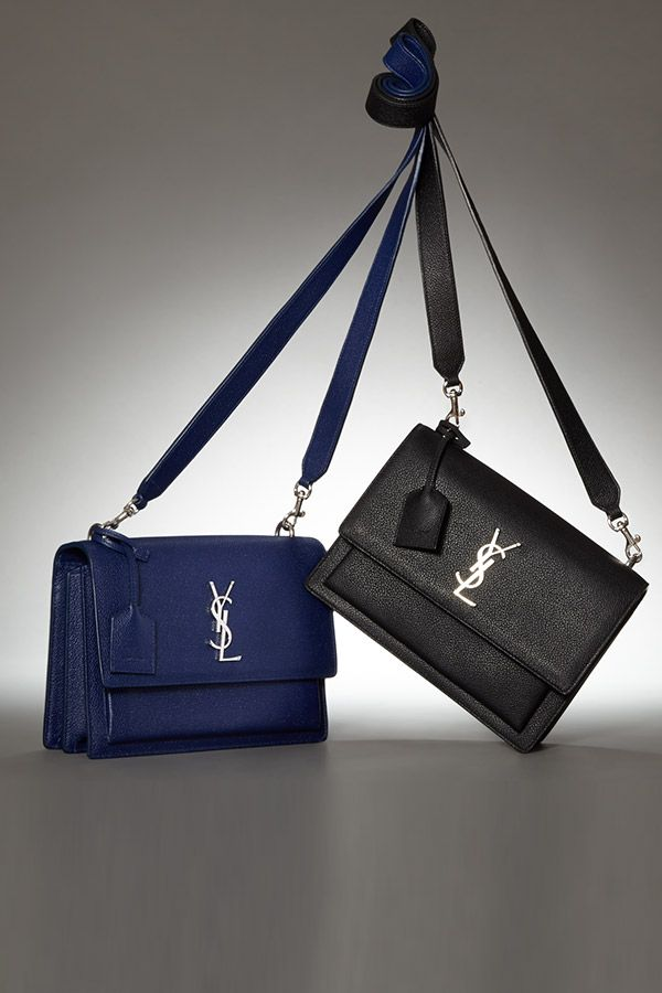 Sunset bag - Blue Saint Laurent