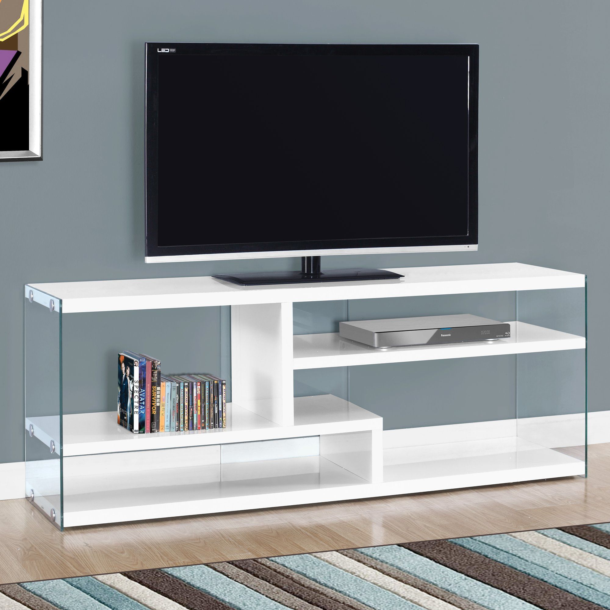 Customer Image Zoomed Furniture Placement Living Room Glass Tv