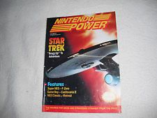 Back Issue Nintendo Power Magazine Star Trek  Vol 29 October 1991 4-10