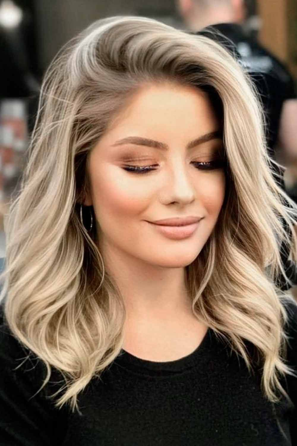 Side Swept Layered Hairstyles