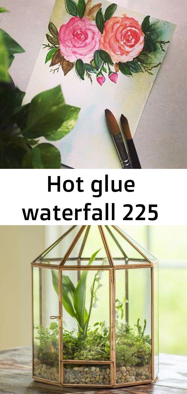 Hot glue waterfall 225 Have a great day! ? Gazebo Tabletop Terrarium - Glass Terrarium - Plant Terrarium Bachlauf mit Gartenteich im Kleingarten anlegen Ewiges Terrarium - [150 Tage später] - YouTube
