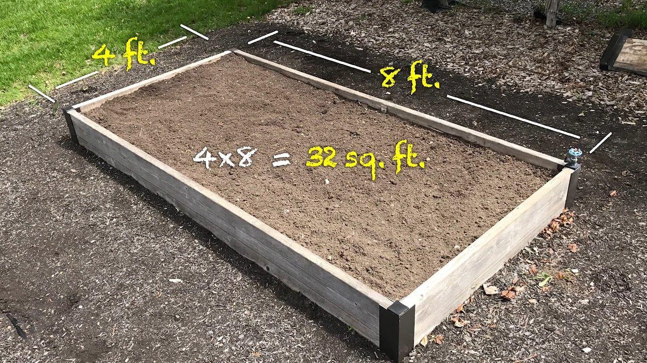 How Much Soil Do I Need Vegetable Garden Raised Beds Raised