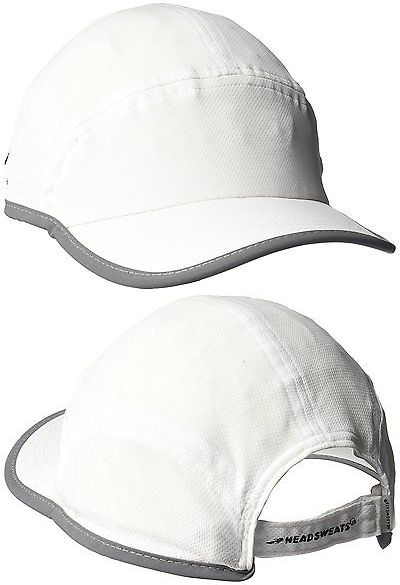 Hats and Headwear 158918: Headsweats Elite Icefil Reflective Fast Hat, White BUY IT NOW ONLY: $32.07