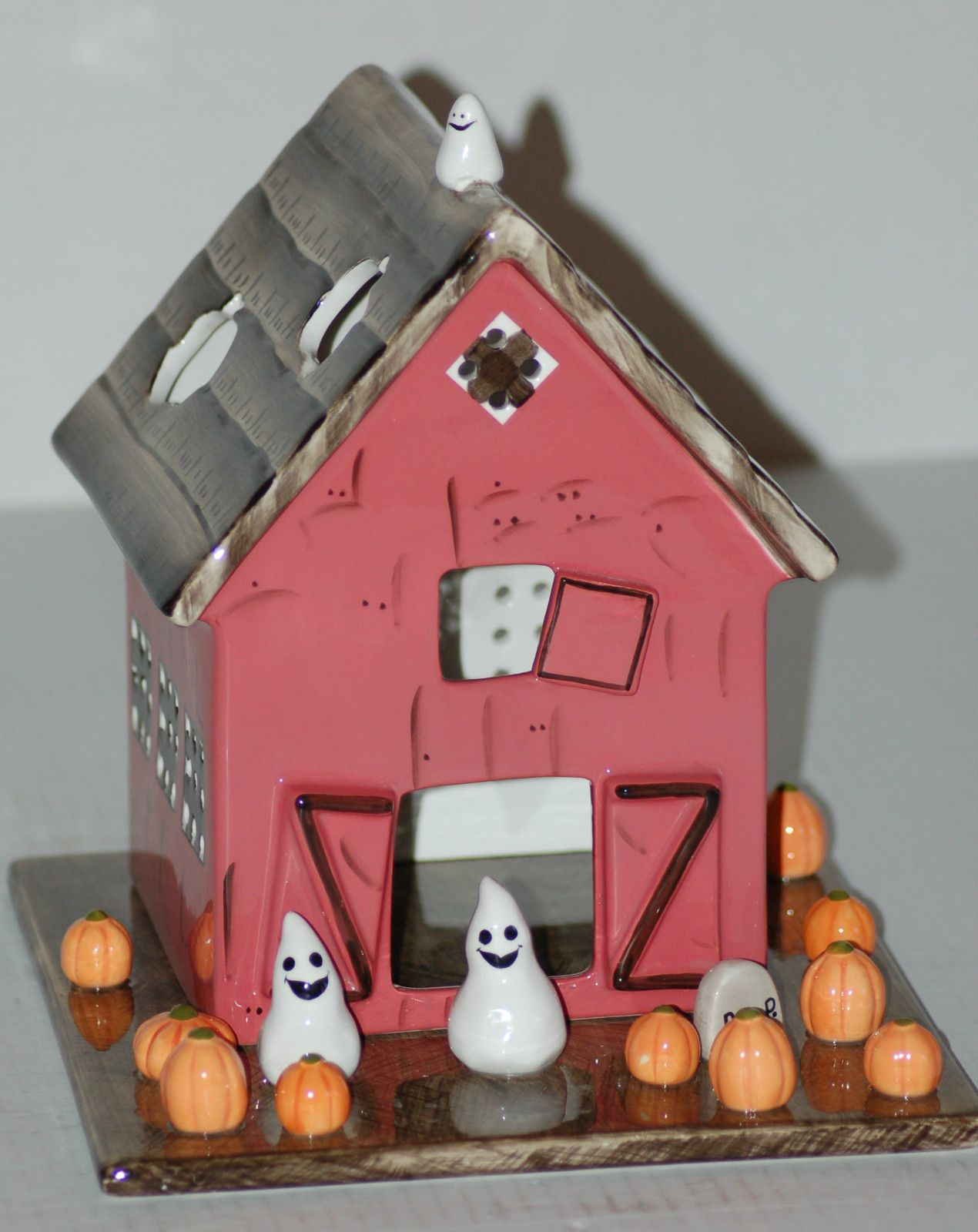Bath & Body Works White Barn Candle Co Halloween House